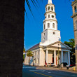 Saint Michael's in Charleston, SC - Stock Photo