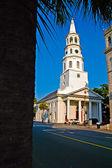 Saint Michael's in Charleston, SC — Stock Photo
