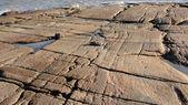 Granite coast of the White sea — Stock Photo