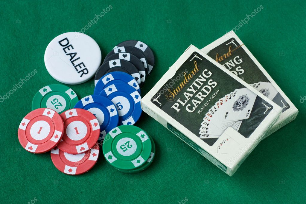 Casino items — Stock Photo #2110389