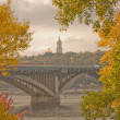 Stock Photo: Autumn in Kiev, Ukraine