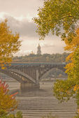 Autumn in the Kiev, Ukraine — Stock Photo