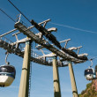 Aerial tramway (cable car) - Cermis — Stock Photo