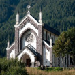 Stock Photo: Small Italichurch - Dolomites, Italy