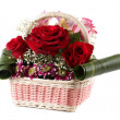 Bouquet flowers. - Stock Photo