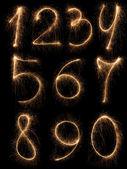 Numbers set. — Stock Photo