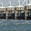 Storm surge barrier — Stock Photo