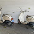 Two parked scooters — Stock Photo #2136367