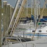 Yacht harbor — Stock Photo