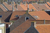 Czerwone dachy — Zdjęcie stockowe