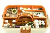 Sewing box — Stock Photo