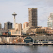 Seattle's Pier 59 Waterfront — Stock Photo