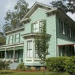 Historic Victorian Home - Stock Photo