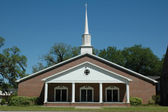 First Baptist Church — Stock Photo