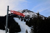 Ski Patrol Sign — Stock Photo