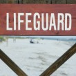 Lifeguard Stand — Stock Photo