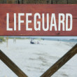 Stock Photo: Lifeguard Stand