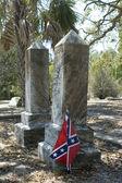 Confederate Grave — Stock Photo