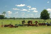 Old_farm_tools — Stock Photo