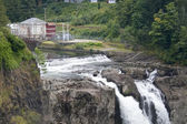 Snoqualmie Falls Hydroelectric Plant — Stock Photo