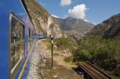 Train to Machu Picchu — Stock Photo