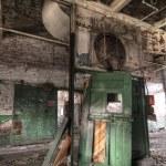 Abandoned Green Door — Stock Photo #2106001