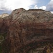 Angels Landing Panoramic — Stock Photo