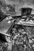 Decayed Desk — Stock Photo