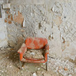 Stock Photo: Orange Chair