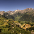 Stock Photo: Pyrenees Mountains