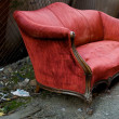 Foto Stock: Red Couch