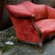 Foto de Stock  : Red Couch