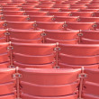 Red Stadium Seats — Stock Photo