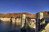 Hoover Dam HDR — Stock Photo