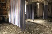 Hospital Curtains — Stock Photo