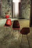 Hospital Room Chairs — Stock Photo
