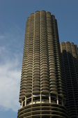 Marina City Tower — Stock Photo