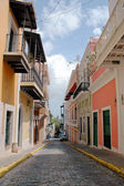 Puerto Rico Street — Stock Photo