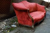 Red Couch — Stock Photo