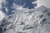 Snowcapped Peak — Stock Photo