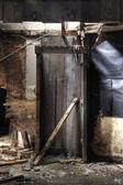 木製のブース — ストック写真