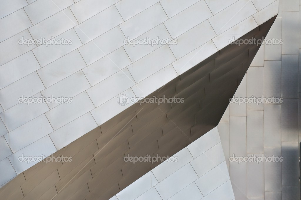 Detail of a Titanium Roof — Stock Photo #2158579