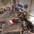 Pile of Chairs — Stock Photo