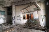 Abandoned Classroom — Stock Photo