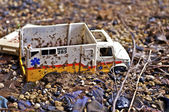 Broken Toy Truck — Stock Photo