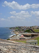 Old San Juan Coast — Stock Photo
