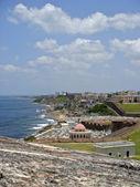 Old San Juan Coast — Stock Photo