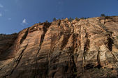 Zion National Park Rock Wall — Stock Photo