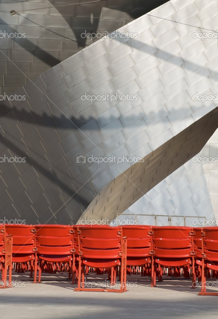 Seating at the Pritzker Pavilion in Chicago, Illinois  Photo #2207544