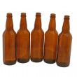 Empty bottles  isolated — Stock Photo